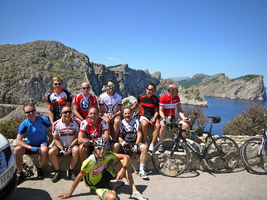 Mallorca cycling group pic