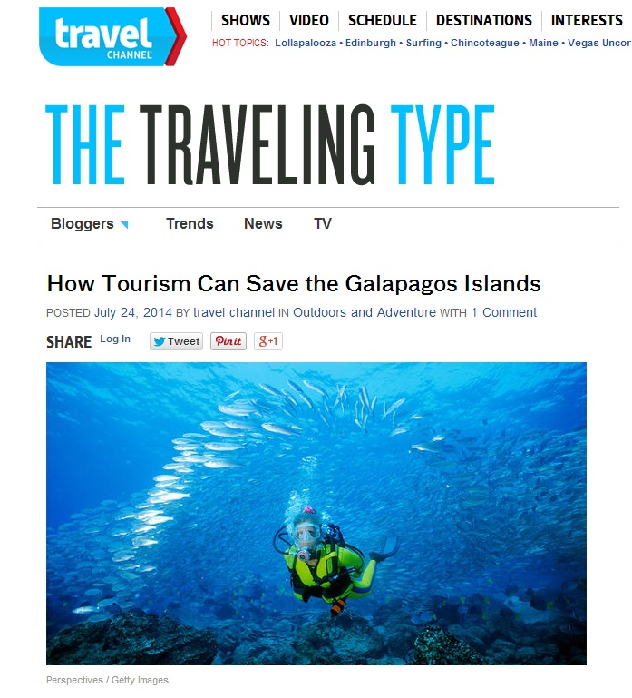 Adventure Life Galapagos Travel Channel