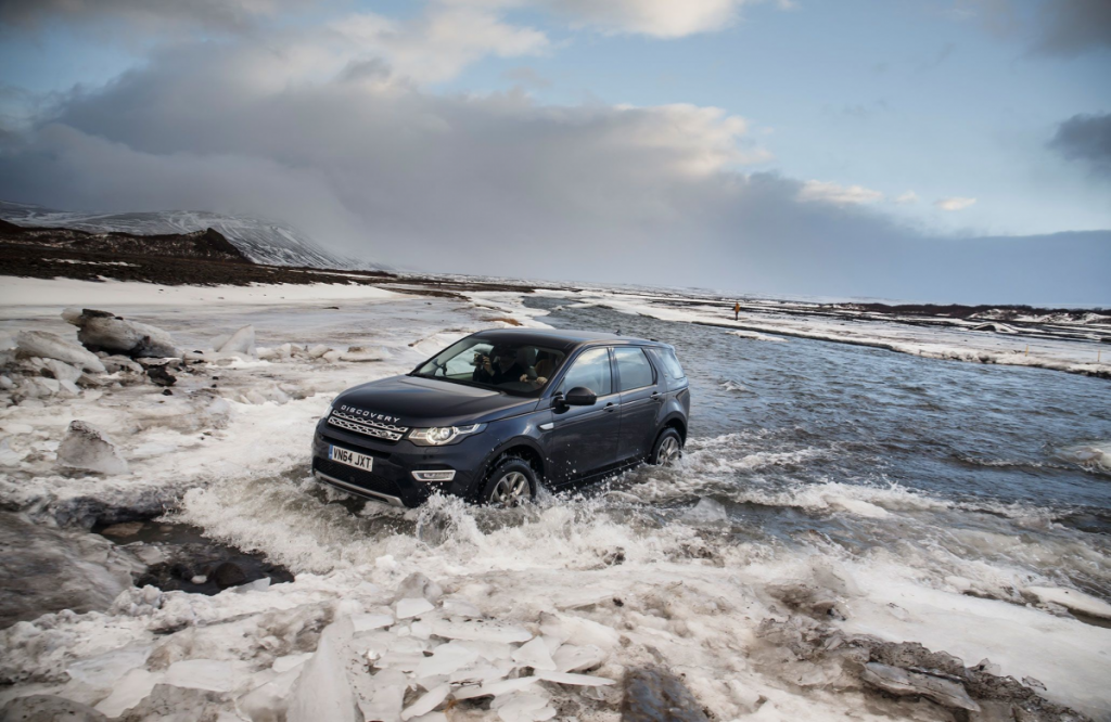 Land Rover tour of Iceland