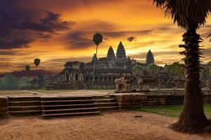Angkor Wat, private plane tour, southeast asia